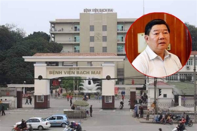 Đề nghị truy tố nguyên Giám đốc Bệnh viện Bạch Mai Nguyễn Quốc Anh