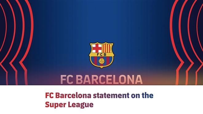 Barca tiếp tục tham gia Super League - 1