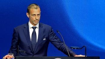Chủ tịch UEFA dọa loại Barca, Real khỏi Champions League