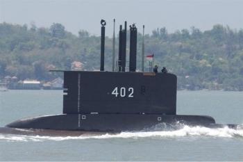 """AP: """"Hải quân Indonesia tuyên bố tàu ngầm đã chìm"""""""