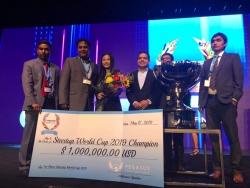 Startup được rót vốn tại Shark Tank vô địch giải triệu USD thế giới