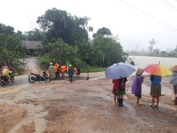 Bắc Bộ mưa rất to ở nhiều nơi, đề phòng lũ quét và sạt lở đất