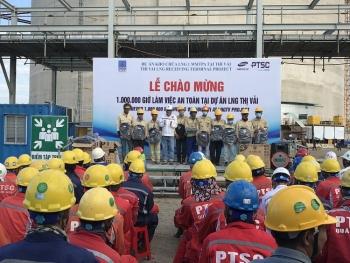 Dự án Kho chứa LNG Thị Vải đạt 1 triệu giờ làm việc an toàn