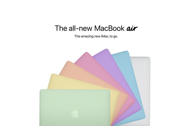 MacBook Air sẽ có nhiều màu như iMac
