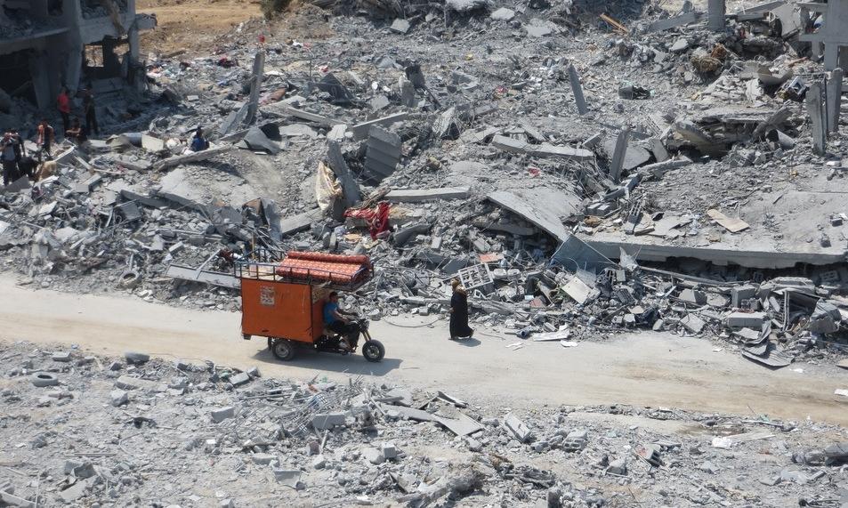 Chiến dịch trên bộ đẫm máu của Israel tại Gaza năm 2014