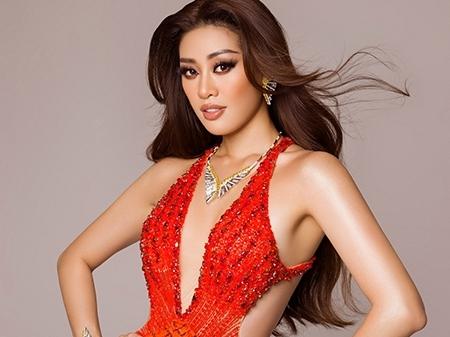 Khánh Vân dừng chân ở top 21 Miss Universe