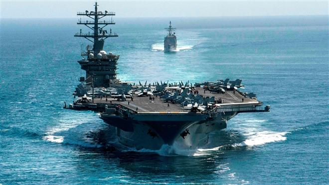 Ông Biden: Mỹ phải bảo vệ tự do hàng hải ở Bắc Cực và Biển Đông - 1