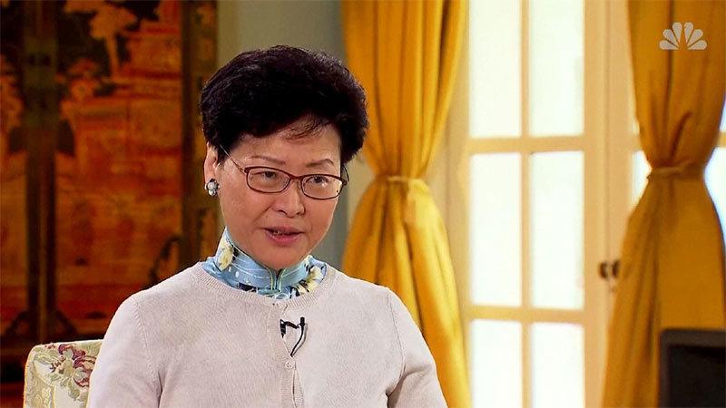 bieu tinh hong kong giai tan canh sat lang le don chuong ngai vat