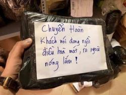 tai xe grab cuoi nhu meu goi dong nghiep uong phu tra sua vi bi bung tien