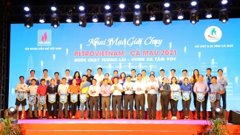 PVTrans tham gia giải chạy PETROVIETNAM – CÀ MAU 2021