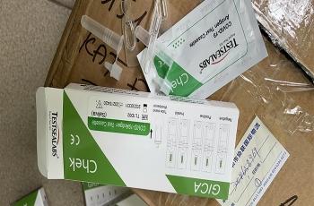 Bát nháo kit test nhanh COVID-19: Xử cơ sở mua trôi nổi đầu tiên ở Hà Nội
