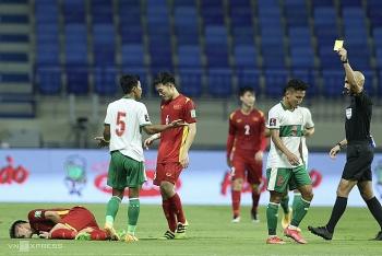 HLV Nguyễn Việt Thắng: 'Cầu thủ Indonesia thi đấu cay cú'