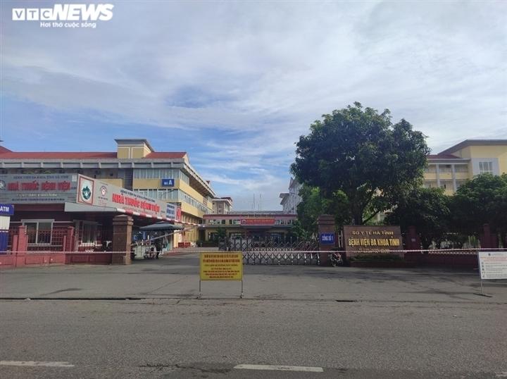 Sau 1 ngày phong tỏa, Bệnh viện Đa khoa Hà Tĩnh hoạt động trở lại từ 6h ngày 9/6