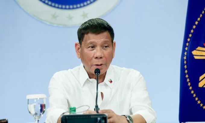 """Duterte: """"Không ai xứng đáng kế nhiệm tôi"""""""