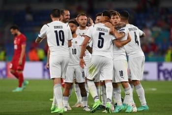 Italy đè bẹp Thổ Nhĩ Kỳ ngày khai màn Euro 2020