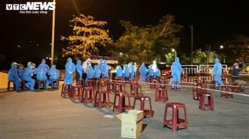 Liên quan ca COVID-19, Đà Nẵng xét nghiệm hơn 1.000 người cảng cá Thọ Quang