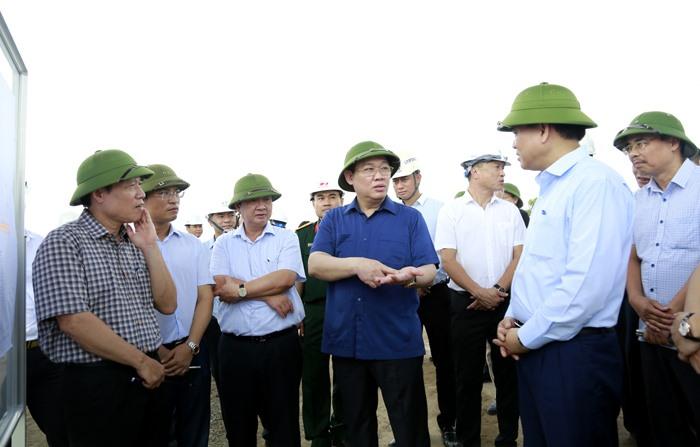 """""""Chốt"""" tiến độ 5 dự án giao thông trọng điểm ở Hà Nội"""