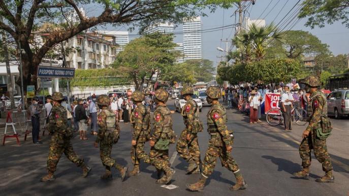 Mỹ trừng phạt các quan chức chính quyền quân sự Myanmar