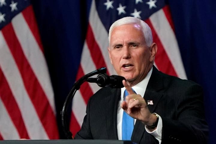 Cựu Phó Tổng thống Pence kêu gọi chính quyền Biden 'mạnh tay' hơn với Trung Quốc - 1