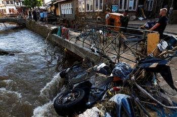 188 người chết vì lũ lụt ở châu Âu, Thủ tướng Đức sốc