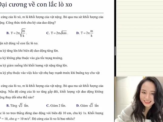 """Cô giáo 9X dạy Vật lý """"nổi như cồn"""" sau livestream đạt 1,6 triệu người xem"""