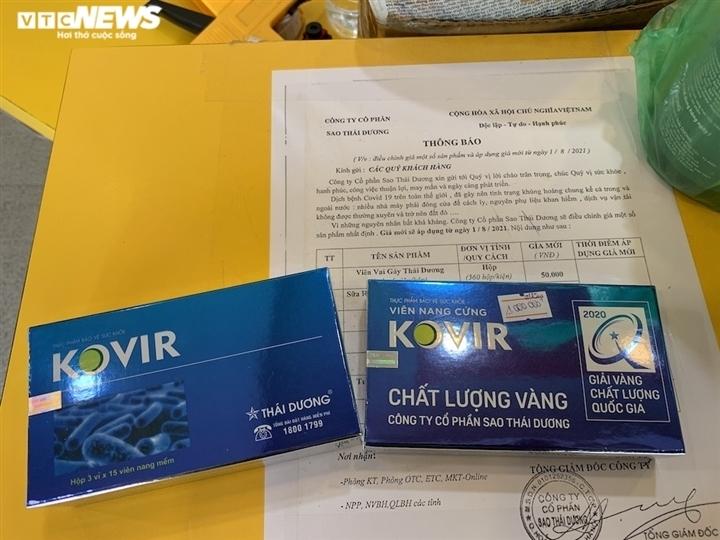 Thực phẩm 'kháng COVID-19' nghi bị làm giá: Quản lý thị trường vào cuộc kiểm tra - 1
