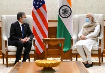 Sang Ấn Độ, Ngoại trưởng Mỹ tặng quà trị giá 25 triệu USD