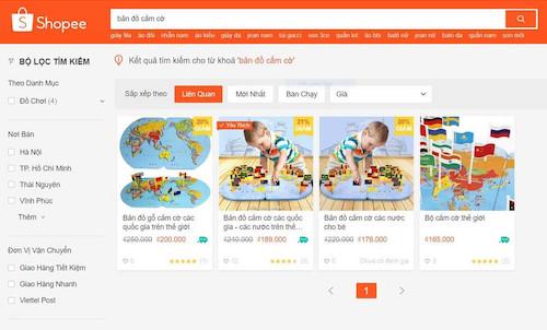 """Sàn thương mại điện tử bán đồ chơi có hình """"đường lưỡi bò"""" của Trung Quốc"""