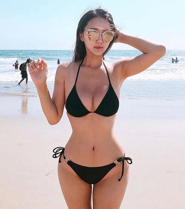 han quoc ngap tran nhung co gai binh thuong van mac bikini dep nhu tuong