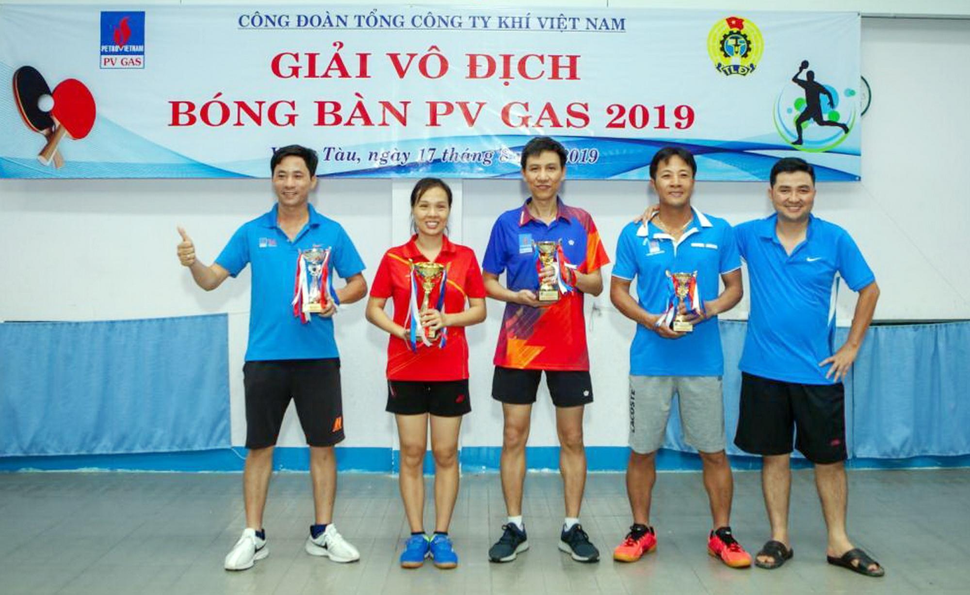 pv gas to chuc giai bong ban 2019