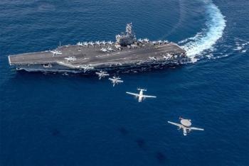 Mỹ điều tàu sân bay tập trận ở Biển Đông