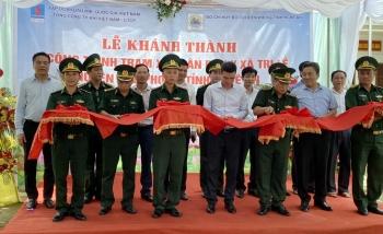 PV GAS tài trợ 4 tỷ đồng xây dựng Trạm xá quân dân y xã Tri Lễ, Nghệ An