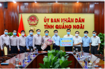 PVN ủng hộ gần 10 tỷ đồng chung tay cùng các địa phương chống dịch Covid-19
