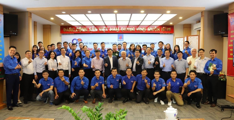 Đồng chí Lê Mạnh Hùng - Tổng Giám đốc Tập đoàn Dầu khí Việt Nam (Petrovietnam) đối thoại trực tuyến với đoàn viên, thanh niên Dầu khí trên cả nước