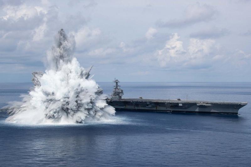 Thử nghiệm chống sốc thành công, Mỹ không lo ngại Trung Quốc tấn công tàu sân bay  -0