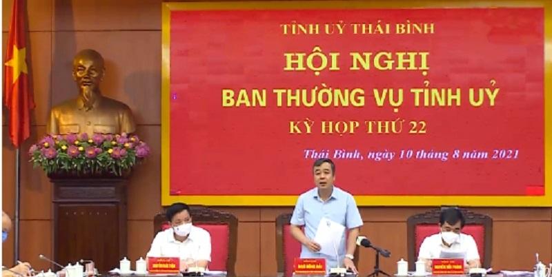 Thái Bình thống nhất chủ trương tiếp nhận Dự án nhà máy Lotes Thái Thụy