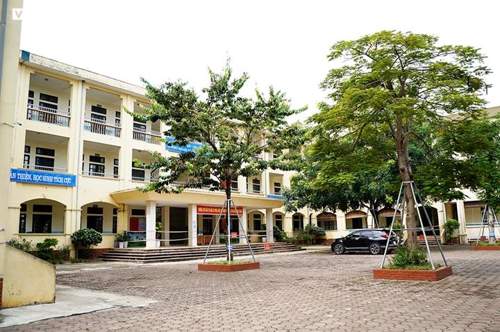 Cận cảnh các ngôi trường ở ngoại thành Hà Nội được trưng dụng làm khu cách ly - 1