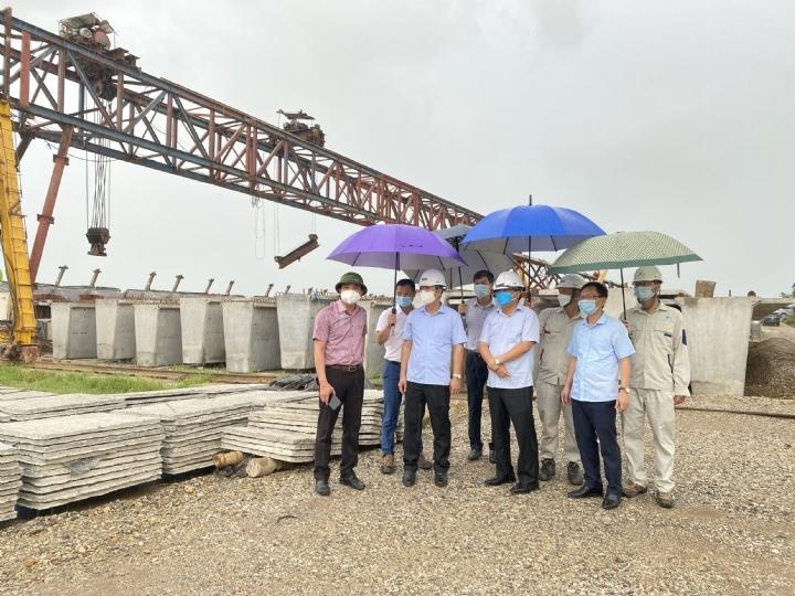 Tiếp tục đẩy nhanh tiến độ thực hiện dự án KCN Liên Hà Thái
