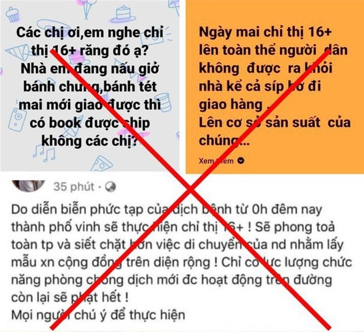 Xử phạt loạt chủ facebook ở Nghệ An đăng tin sai sự thật về phòng chống dịch  - 1