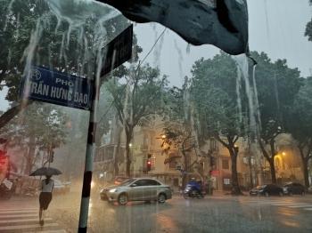 Thời tiết ngày 26/8: Mưa rào và dông bao trùm cả nước