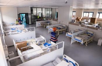 Ngày mai, khánh thành bệnh viện dã chiến hiện đại nhất Hà Nội