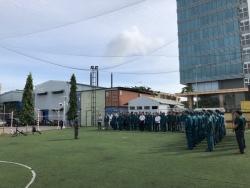 PTSC M&C tổ chức huấn luyện lực lượng dân quân tự vệ năm 2018