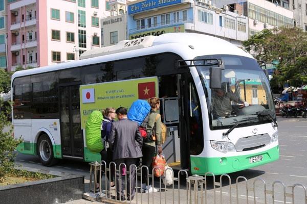 """Xe buýt điện gần 10 tỉ Nhật Bản hỗ trợ Hải Phòng bị """"nhốt"""""""