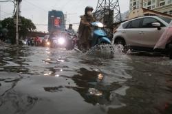 Cty Thoát nước Hà Nội nói về mức độ ngập úng do mưa lớn sáng nay