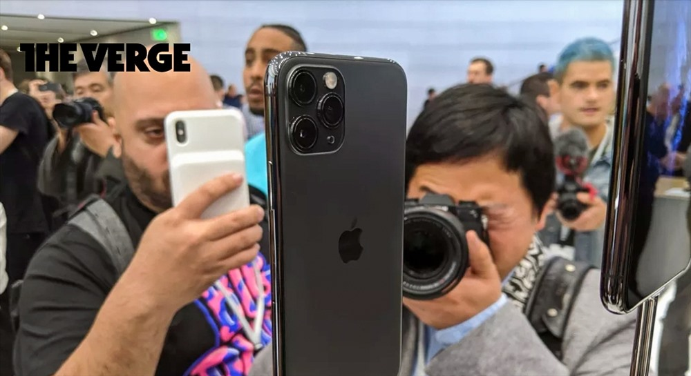 cum 3 camera tren chiec iphone 11 pro max than thanh den muc nao