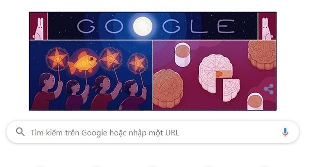 google lay kieu gioi thieu ve doodle tet trung thu 2019