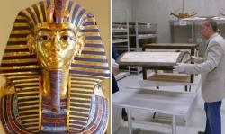 soc khi lan dau tien mo chiec hop bi an trong lang mo tutankhamun ai cap