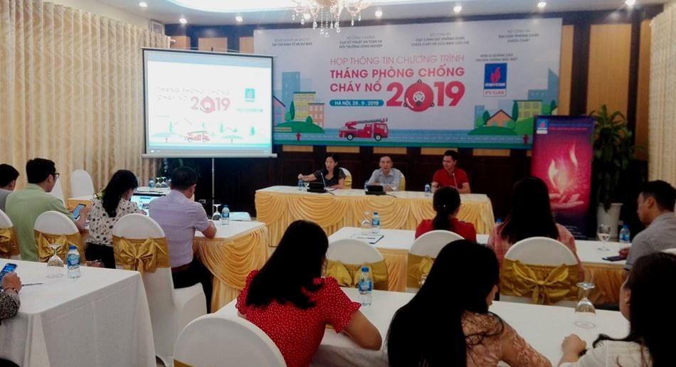 pv gas dong hanh cung thang phong chong chay no nam 2019