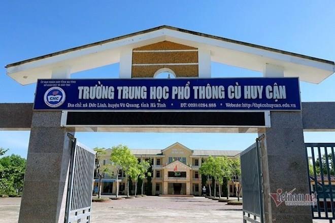 mot thi sinh tang 225 diem thi tot nghiep thpt sau phuc khao