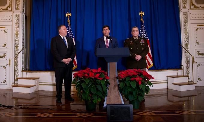 """Bốn năm Trump """"thay máu"""" gương mặt ngoại giao Mỹ"""